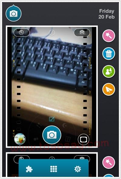 แอพถ่ายรูป hello camera จากผู้ผลิตแอพฯ camera 360