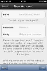 howto-settings-create new apple id-step 10