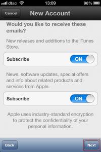 howto-settings-create new apple id-step 12