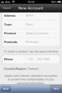 howto-settings-create new apple id-step 13