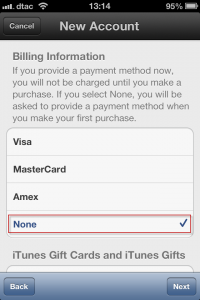 howto-settings-create new apple id-step 14