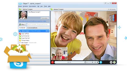 วิธีติดตั้งใช้งานโปรแกรม skype