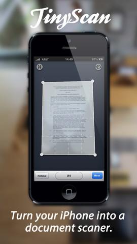 app TinyScan Pro