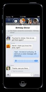facebook อัพเดทหน้าตา และรูปแบบการใช้งานใหม่ ส่งสติ้กเกอร์ได้